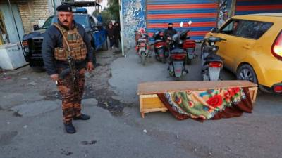 Responsibility claimed for the twin deadliest suicide attacks in Baghdad