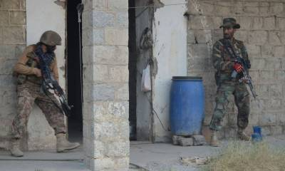 Pakistani Security agencies kill five hardcore terrorists commanders