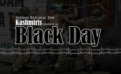 Kashmiris to observe Indian Republic Day as Black Day across the World