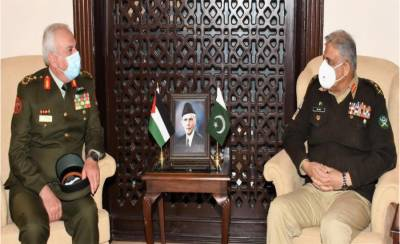 Jordanian Military Chief met with COAS General Qamar Bajwa