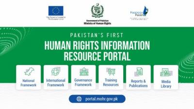 Pakistan's first Human Rights Information Resource Portal launched in partnership with EU