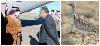 Saudi Prince arrived with delegation in Balochistan for hunting