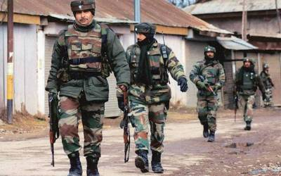 State Terrorism: Indian troops martyred three more Kashmiri youth in fake encounter