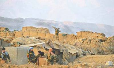 20 Afghan soldiers killed and wounded in deadly suicide attack on a military base by Taliban