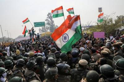 India blocked mobile internet services in New Delhi due farmers protests