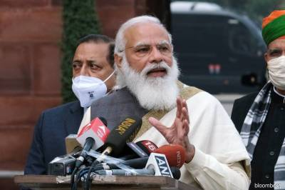 Indian PM Modi breaks silence over farmers protests and hoisting flag on Red Fort