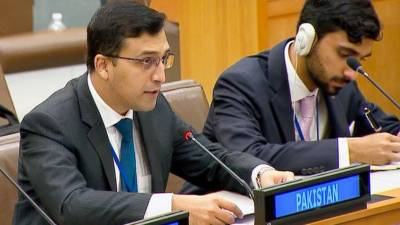Pakistan strongly responds over Indian claims on Occupied Kashmir in UNGA