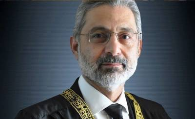 SC Justice Qazi Faiz Isa takes notice of development funds announced for MNAs by PM