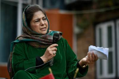 Former IOK CM Mehbooba Mufti exposes worst form of siege in valley since August 2019