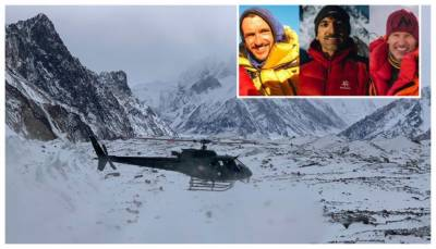 New Developments reporter over search operation against missing mountaineer Mohammad Ali Sadpara