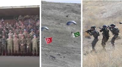Pakistan Turkey joint Military exercise ATATURK - XI 2021 begins at Tarbela