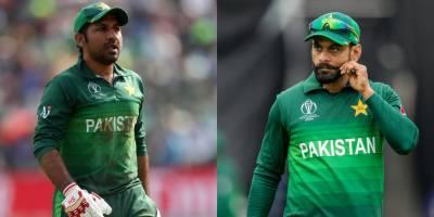 Mohammad Hafeez and Sarfraz Ahmed clash on Twitter