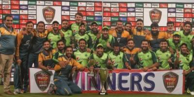 Pakistani Cricket team makes history in T20 international