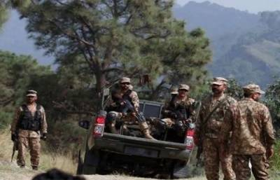 Pakistani Security Forces gunned down three terrorists in a deadly encounter