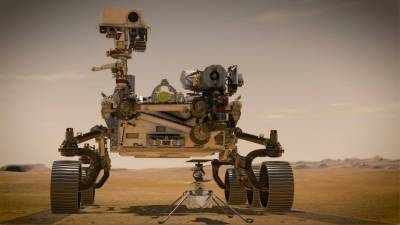 American Perseverance Rover lands on the surface of Mars