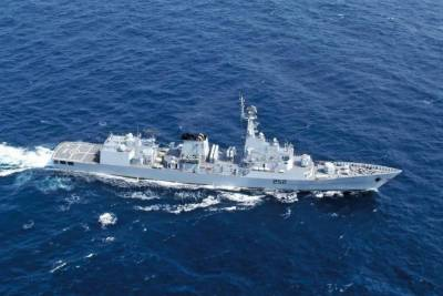 In an upset for India, Pakistan Navy warships held joint drills with Russian and Srilankan Navies