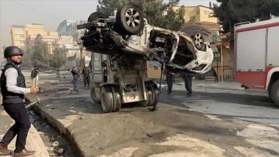 Series of bomb blasts in Afghanistan capital Kabul