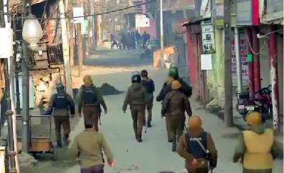 State Terrorism: Indian troops martyred two Kashmiri youth in Occupied Kashmir