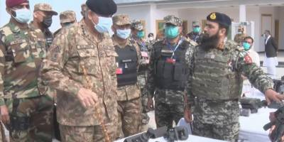 COAS General Qamar Bajwa message to forward troops in North and South Waziristan