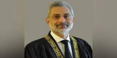 New development reported in Justice Qazi Faiz Isa case in SC