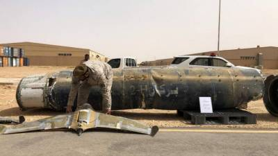 Saudi Military destroys bomb laden Drone launched at Saudi city