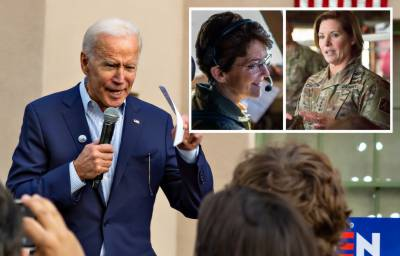 US President Joe Biden appoints two female Generals for military commands