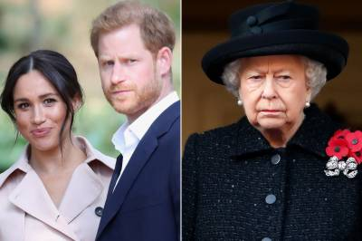 Queen Elizabeth II responds over explosive claims from Meghan Markle