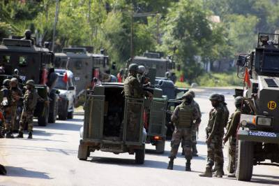 State Terrorism: Indian troops martyred two Kashmiris youth in fake encounter in IOK