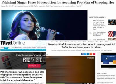 Meesha Shafi reacts over Indian and British media reports of her imprisonment
