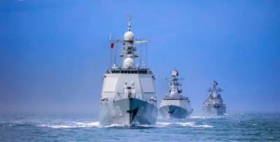Chinese PLA held combat orientated naval drills in three major seas