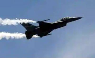 Indian Air Force Mig 21 crashed on a combat training mission