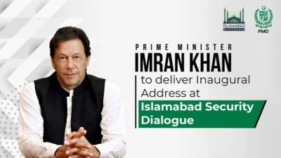 PM Imran Khan inaugurates the Islamabad Security Dialogue organised by NSD