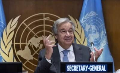 Pakistan expresses support to Antonio Guterres for re appointment as UN Secretary General