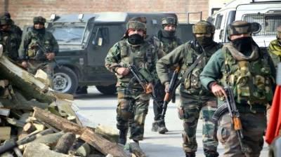 State Terrorism: Indian troops martyred four Kashmiris in fake encounter