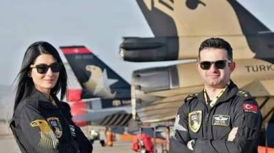 Solo Turk: Famous aerobatics team of Turkish Air Force performance at Pakistan Day Parade