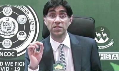 Pakistani NSA Moeed Yusuf reacts over the media reports of his appointment as High Commissoner to India