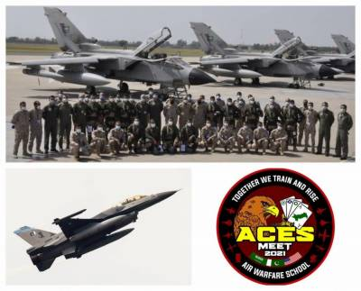 First ever Saudi Air Force strike group fighter jets deployed in Pakistan for ACES MEET 2021
