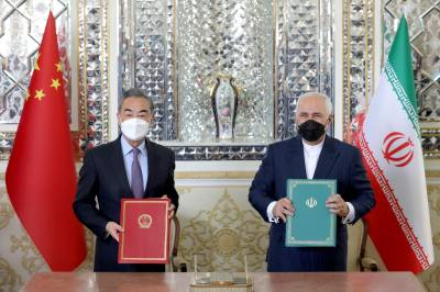 Sino - Iranian $400 billion deal in trade and military Cooperation