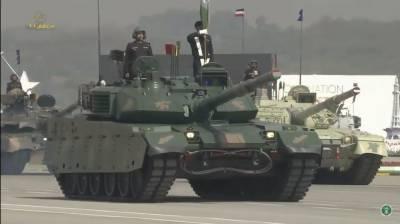 Pakistan unveils state of the art Chinese origin Main Battle Tanks