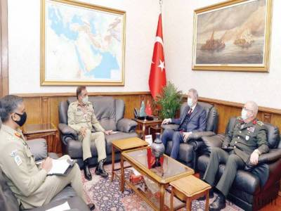 Pakistani CJCSC General Nadeem Raza held meeting with Turkish Defence Minister