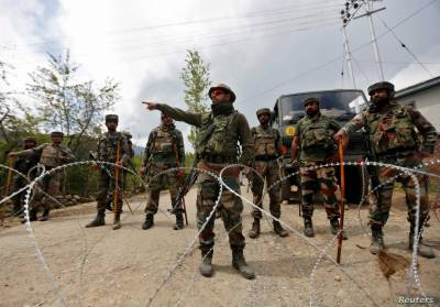 State Terrorism: Indian troops martyred three more Kashmiri youths in fake encounter