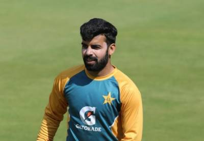 Pakistan's Shadab Khan faces a setback