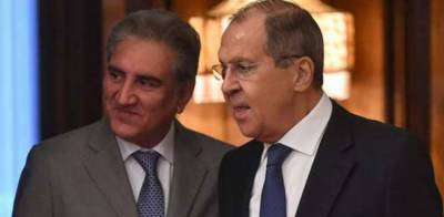 Russian Foreign Minister in Pakistan for an important foreign policy visit