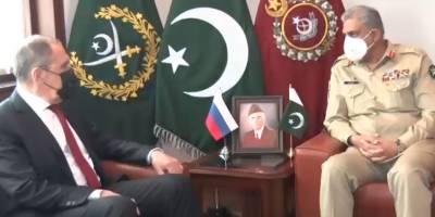 Russian FM held important meeting with COAS General Qamar Bajwa