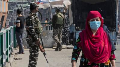 Indian military martyred 7 Kashmiris in fake encounter in IOK