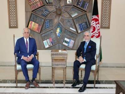 US top envoy held important meetings in Afghanistan over peace process