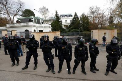Russia expelled 20 diplomats in retaliation