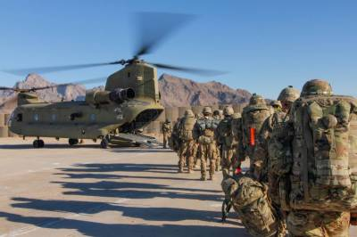 US and NATO troops started final withdrawal from Afghanistan bases
