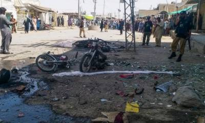 Bomb blast in Balochistan martyred police personnel