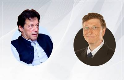 PM Imran Khan held important telephonic conversation with Bill Gates